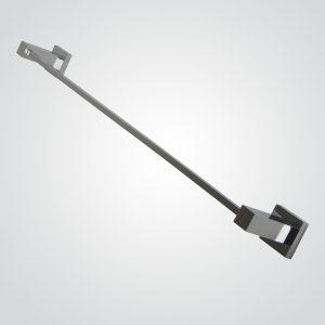 Toallero Barra 60 cm Plus